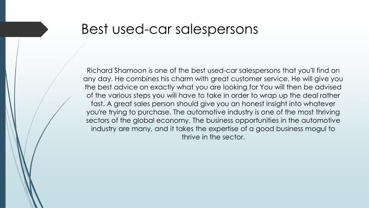 Best used-car