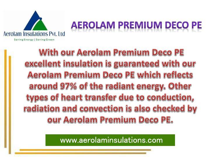 Aerolam Premium Deco