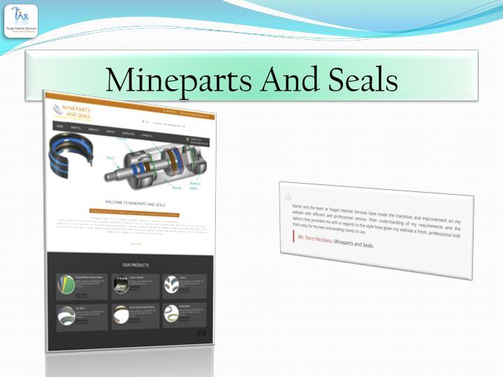 Mineparts