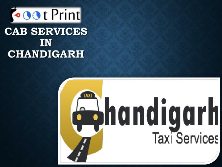 cab services in chandigarh