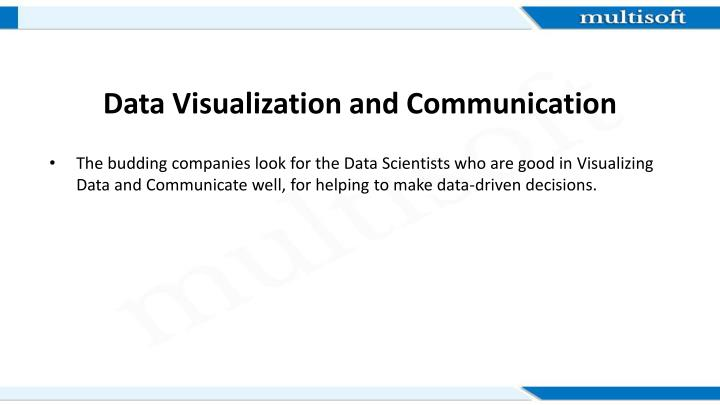 Data Visualization and Communication