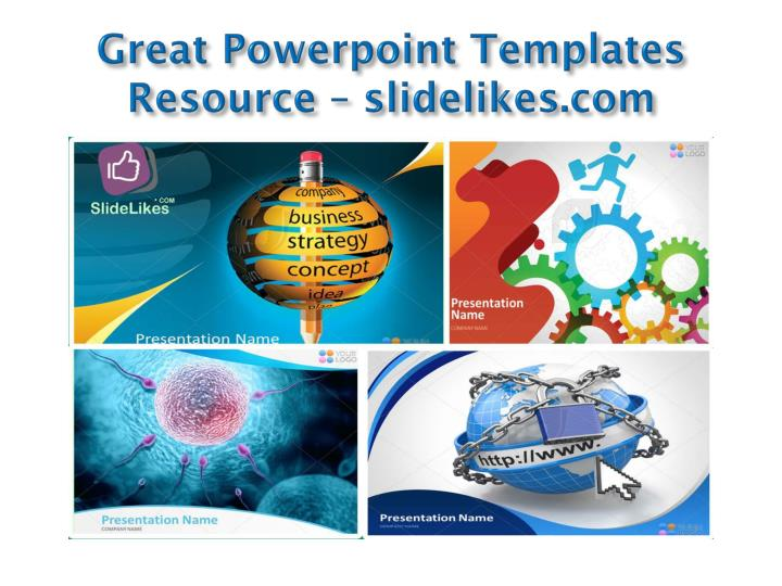 Great powerpoint templates resource slidelikes com