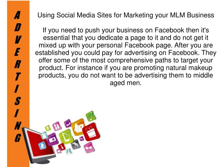 Using Social Media Sites for Marketing your MLM Business