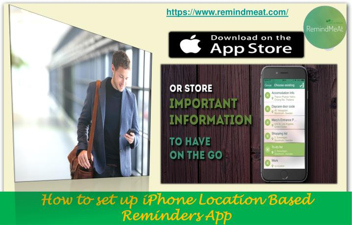 How to set up iphone location based reminders app1