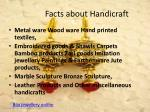 facts about handicraft