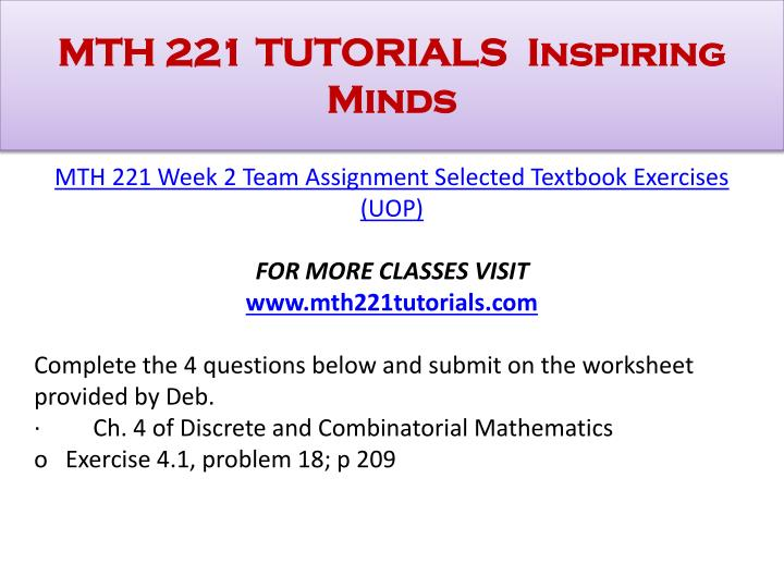 mth 208 week 2 dq1 Assignment 208 – understand  beliefs phi 208 week 2 dq 1 ethics and relativism phi  us at johnmate1122@gmailcom week 1 dq1 what is.