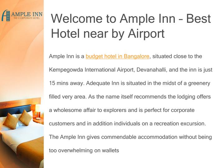 Welcome to Ample Inn