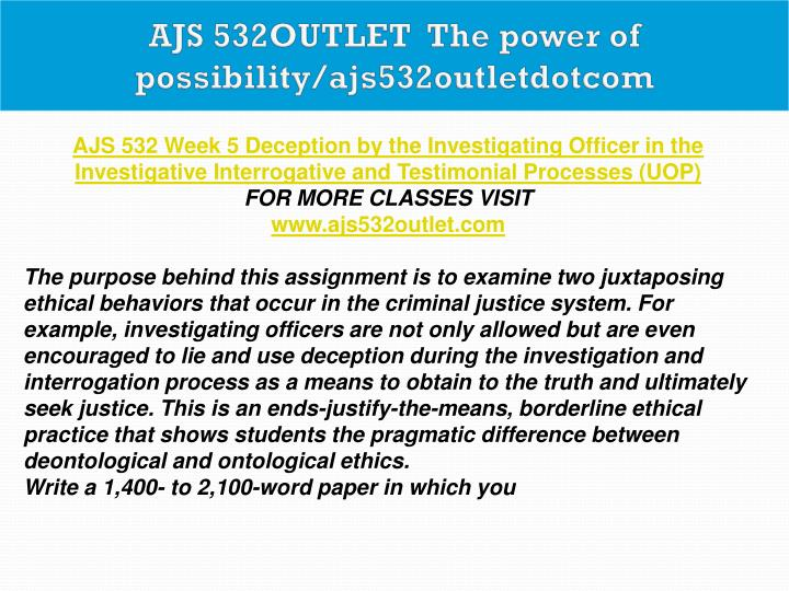 AJS 532OUTLET  The power of possibility/ajs532outletdotcom
