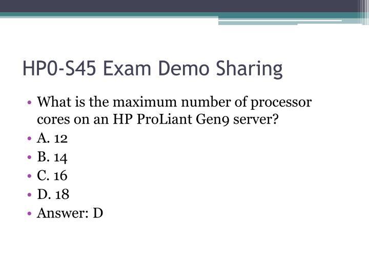 HP0-S45