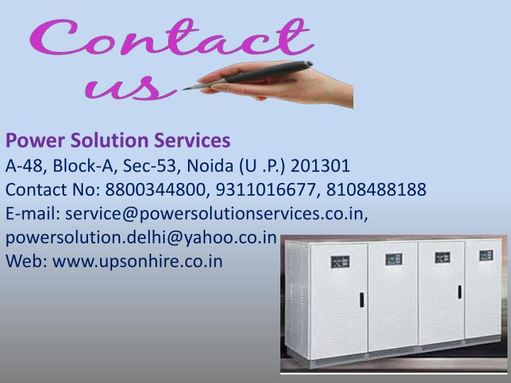 Power Solution Services