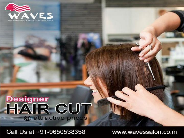 Waves hair salon in noida