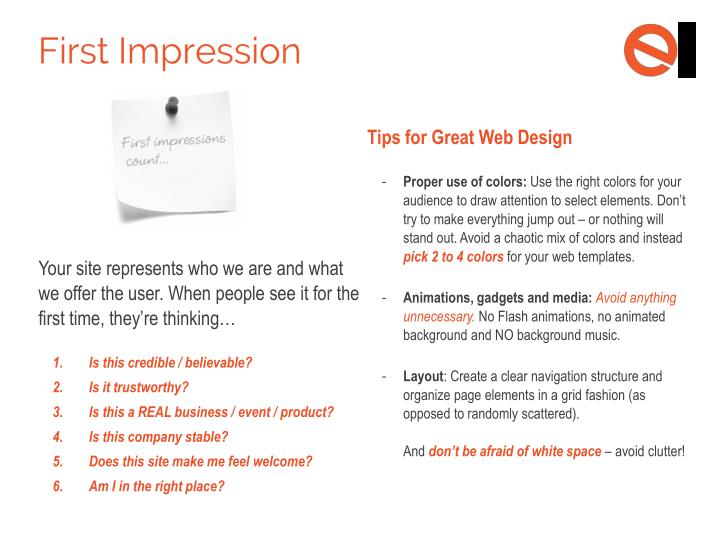 Tips for Great Web Design