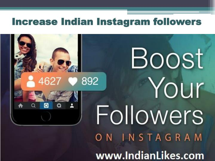 Increase indian instagram followers