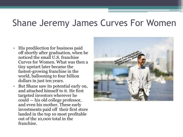 Shane Jeremy James Curves For Women