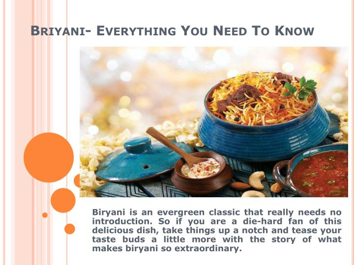 briyani everything you need to know