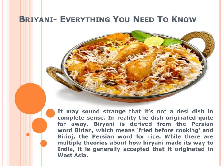 Briyani everything you need to know1