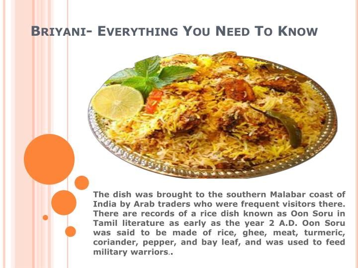 Briyani everything you need to know2