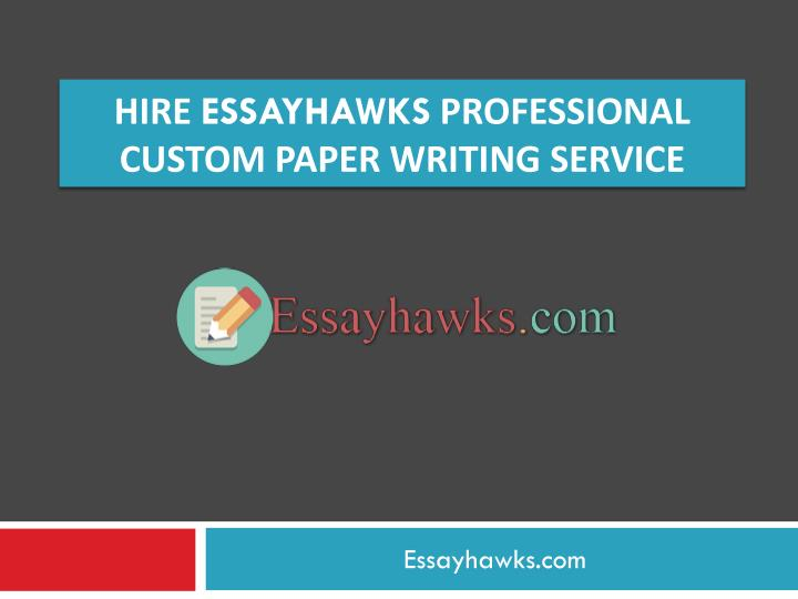 Professional custom writing service nsw