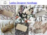 ladies designer handbags