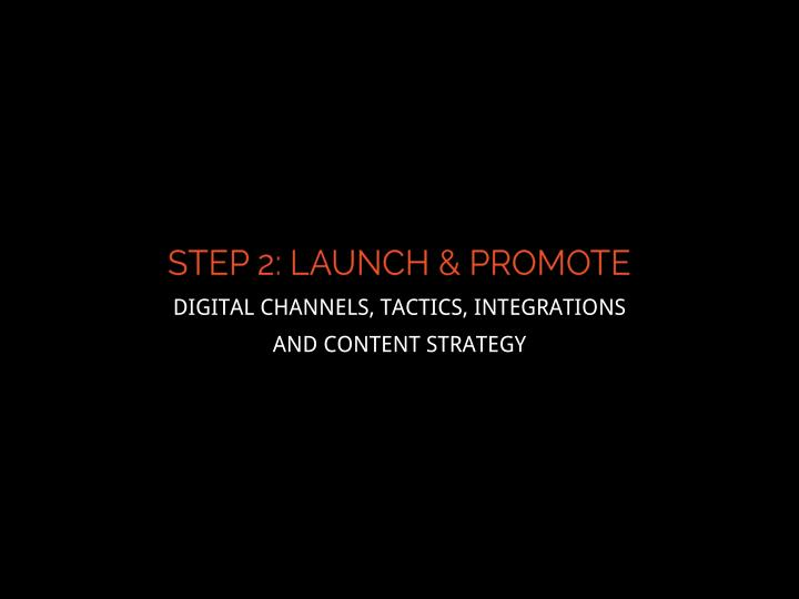 DIGITAL CHANNELS, TACTICS, INTEGRATIONS