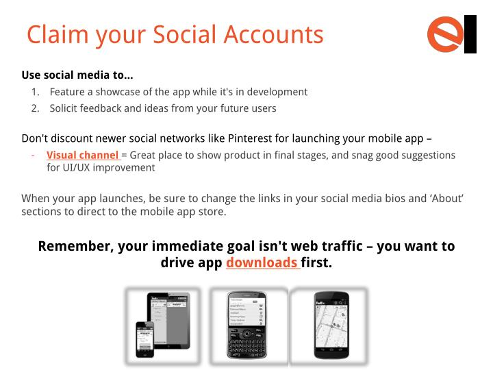 Claim your Social Accounts