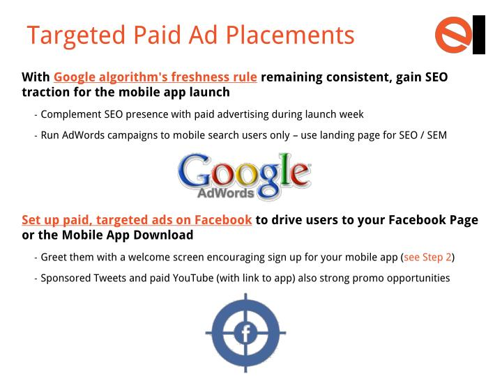 Targeted Paid Ad Placements