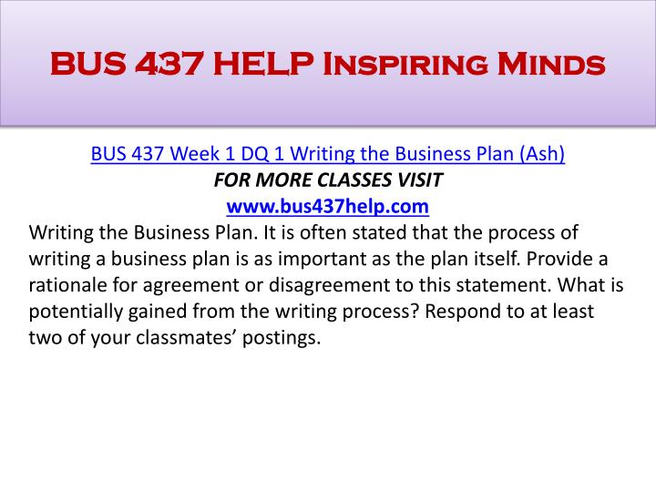 Help To Write A Business Plan