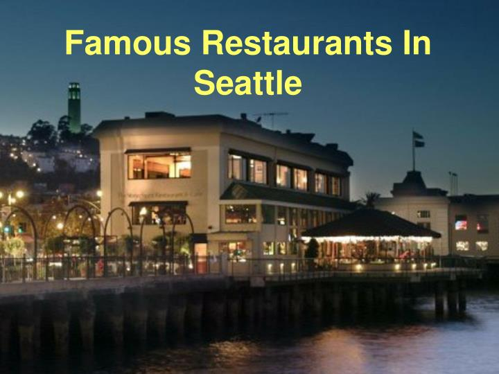 Places To Hook Up In Seattle