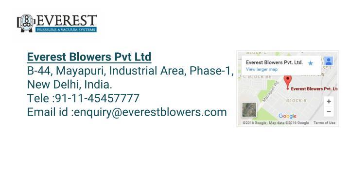 Everest Blowers Pvt Ltd