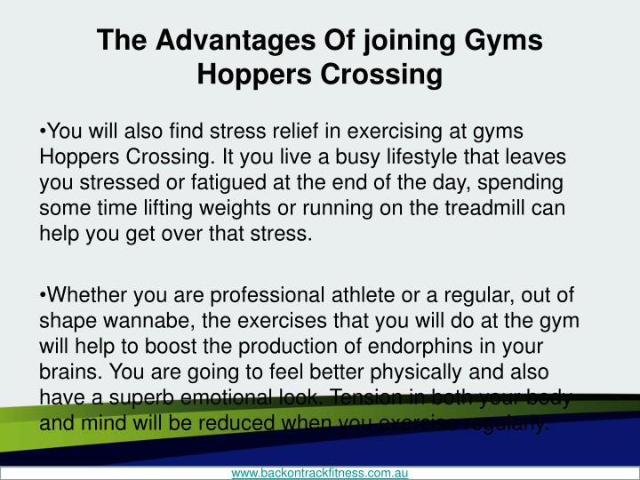 The advantages of joining gyms hoppers crossing2