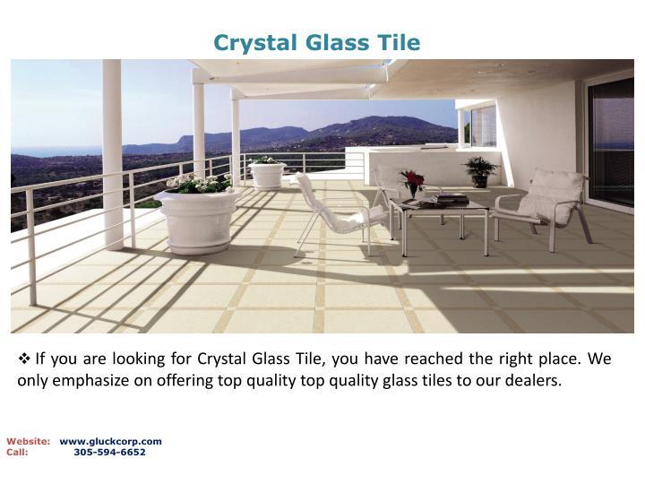 Crystal Glass Tile