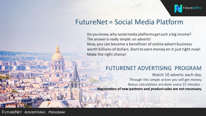 FutureNet=SocialMediaPlatform