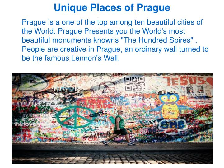 Unique Places of Prague
