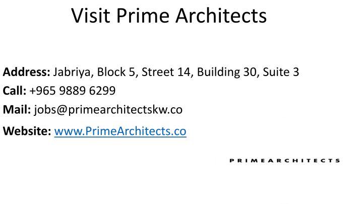 Visit Prime Architects