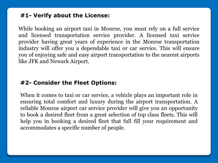 #1- Verify about the License: