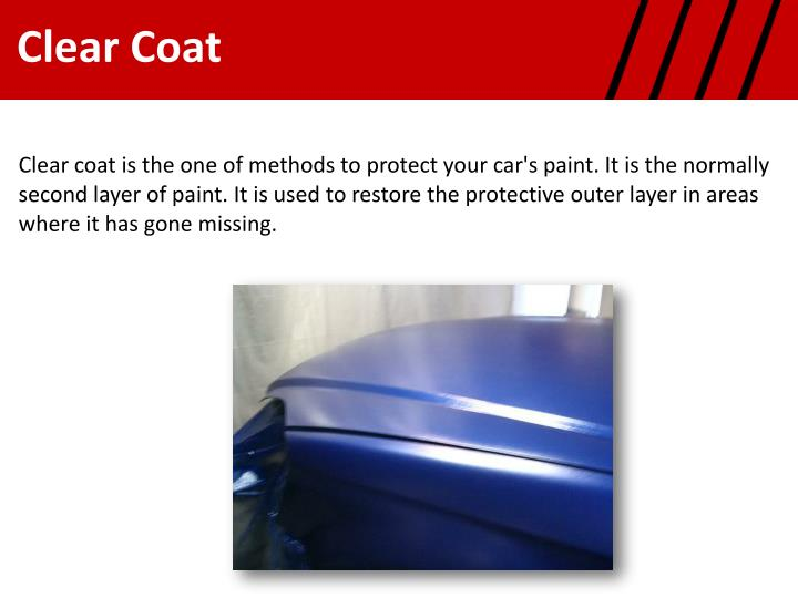 how to protect clear coat