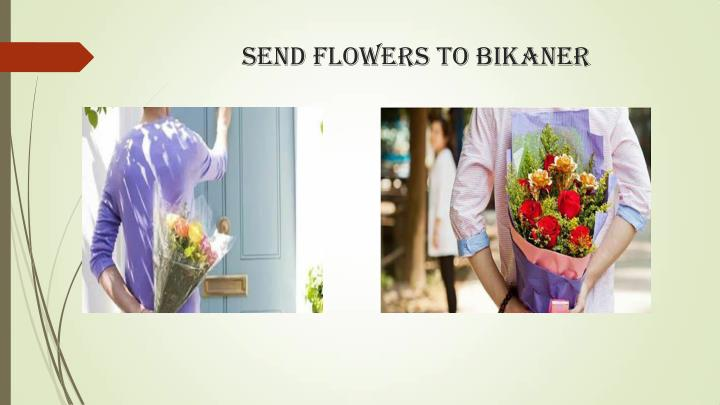 send flowers to bikaner