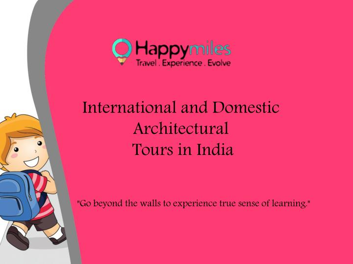 International and Domestic Architectural