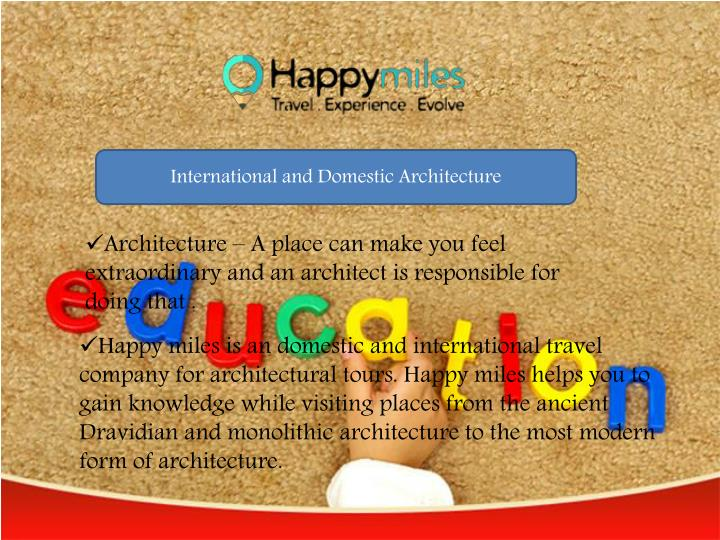 International and Domestic Architecture