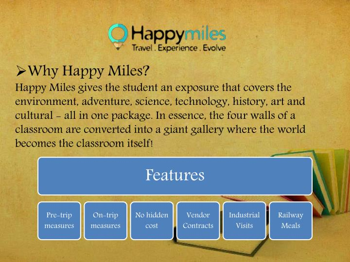 Why Happy Miles?