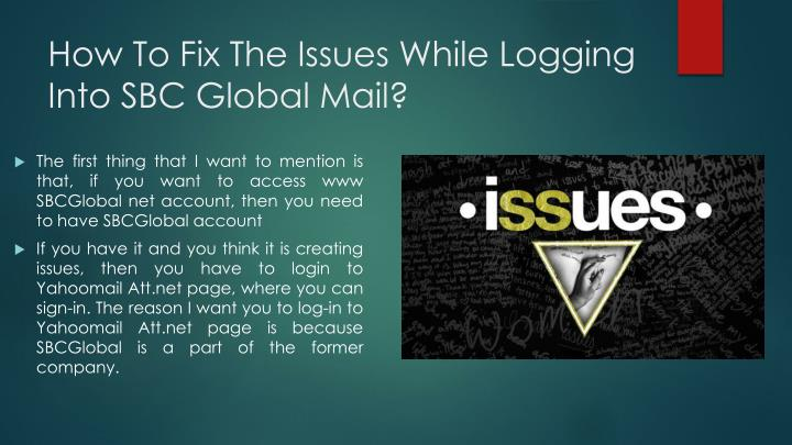 How To Fix The Issues While Logging Into SBC Global Mail?