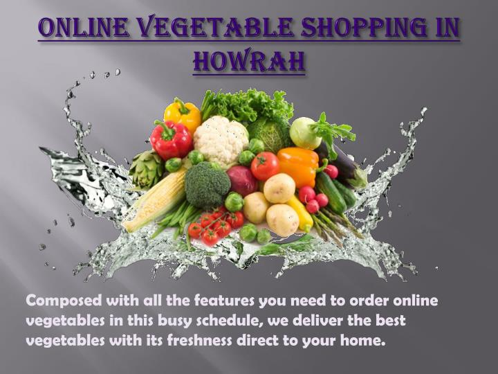Composed with all the features you need to order online