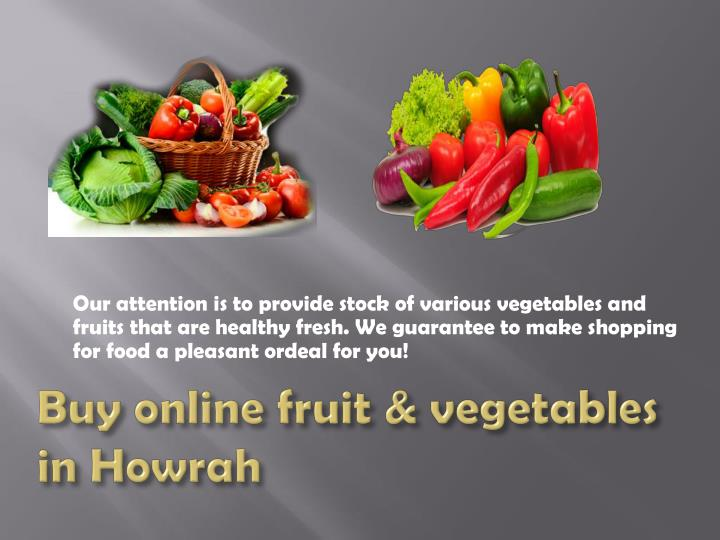 Our attention is to provide stock of various vegetables and
