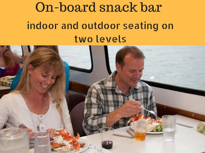 On-board snack bar