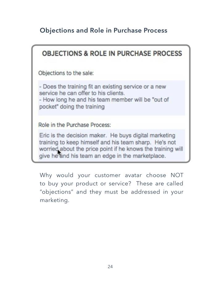 Objections and Role in Purchase Process