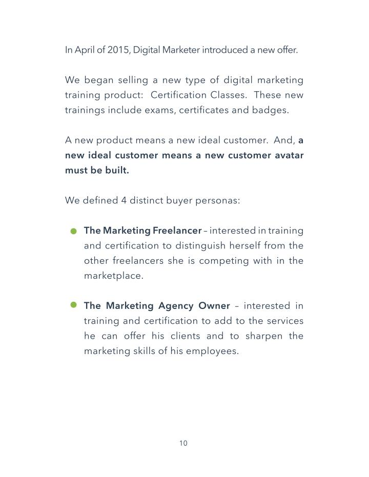 In April of 2015, Digital Marketer introduced a new offer.