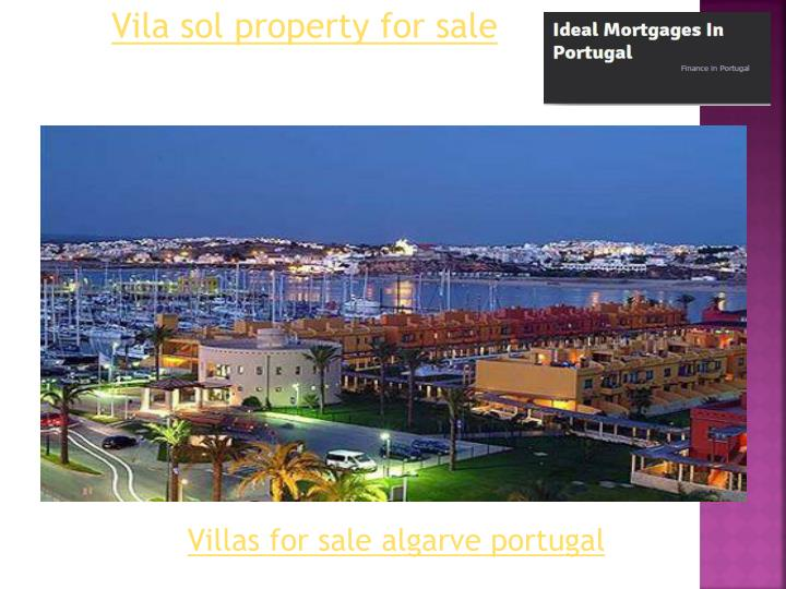 Vila sol property for sale