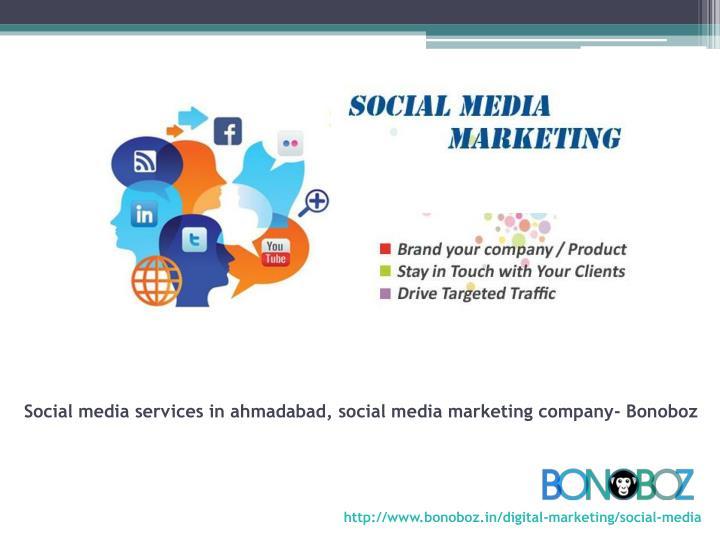 Social media services in ahmadabad, social media marketing company- Bonoboz