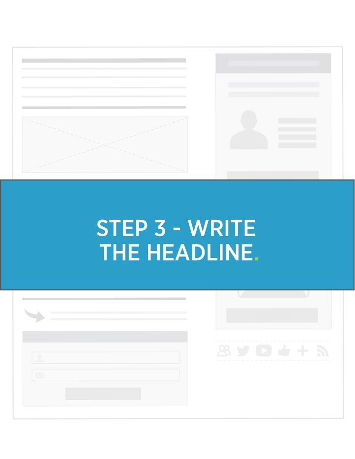 STEP 3 - WRITE