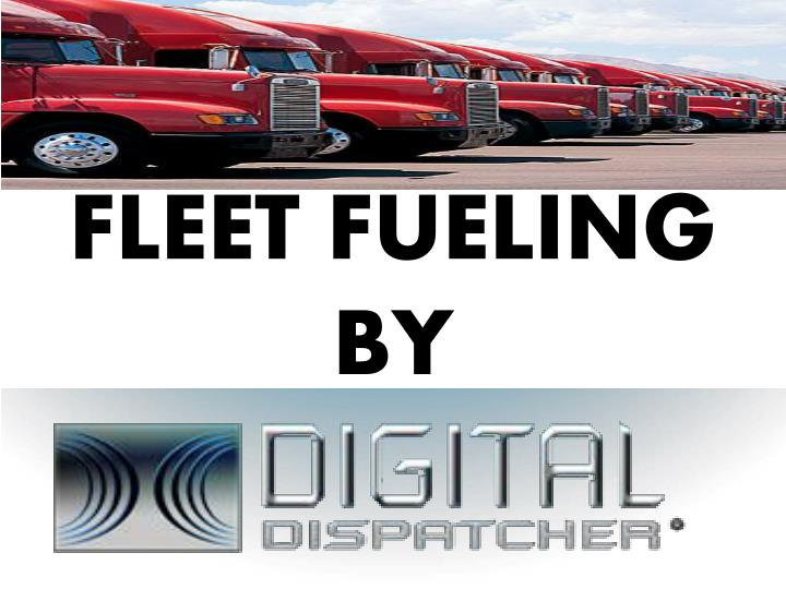 Fleet fueling by